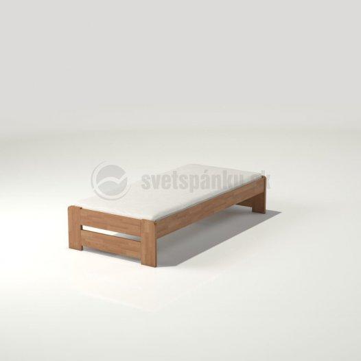 6b18a01e5605 Jednolôžkové postele z masívu - Svet Spánku