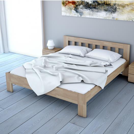 6a524c20a6ab Manželské postele z masívu - Svet Spánku